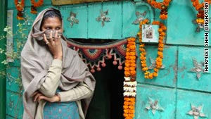 """Pavitra says fellow """"hijras"""" earn a living by performing blessings and dancing at celebrations."""