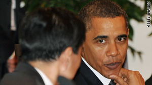 President Obama says he hopes the upcoming Copenhagen summit will lead to a long-term global warming accord.