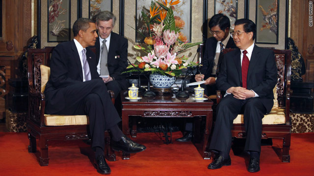 "A former Chinese official says President Obama should not be ""too abrasive"" with Chinese President Hu Jintao."