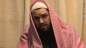 Image released by al Qaeda-linked group on January 6, 2008 purportedly shows Adam Gadahn.