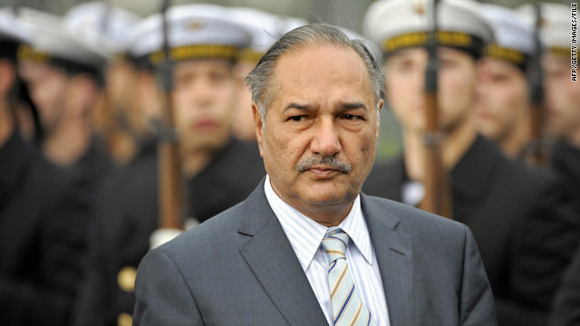 Pakistani Defense Minister Chaudhry Ahmed Mukhtar is among 280 officials placed on an exit control list by the court.