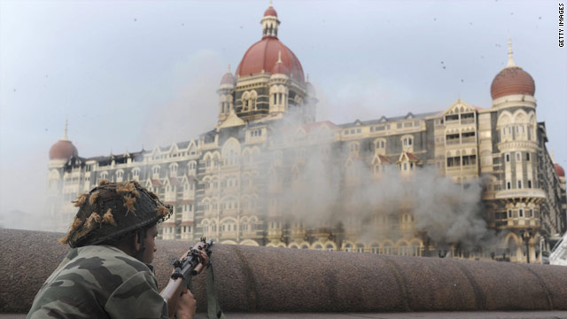 The Mumbai terror attacks claimed the lives of more than 160 people in November 2008.
