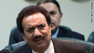 Rehman Malik says he does not mind the opportunity to clear his name.
