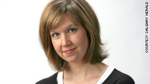 Calgary Herald reporter Michelle Lang was one of five Canadians killed in Afghanistan Wednesday, the paper said.