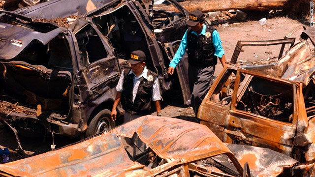 More than 200 people were killed in the Bali bombing in October 2002.