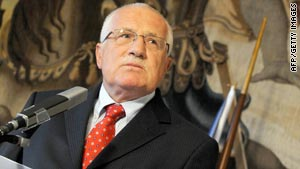 Czech president Vaclav Klaus has agreed to ratify the Lisbon Treaty.