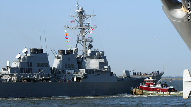 The incident on the USS Ramage has been investigated by Polish military police.