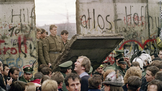 The fall of the Berlin Wall in 1989 symbolized the end of communism across Eastern Europe.