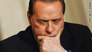 New book questions Silvio Berlusconi over claims he had affairs.