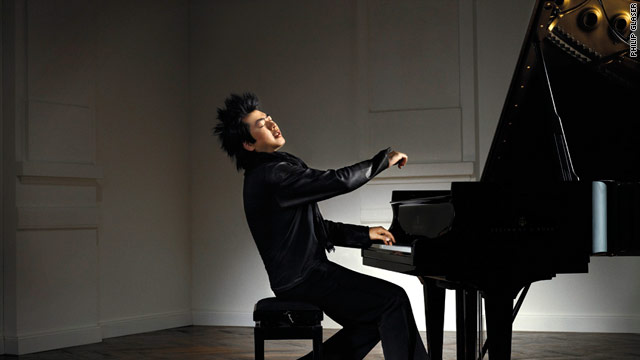 Chinese classical pianist Lang Lang is known for playing with great bravado and a unique flair.