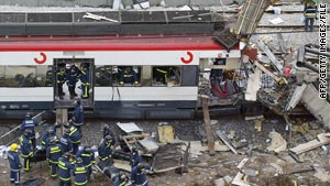 More than 300 possible extremists have been arrested in Spain since the 2004 Madrid commuter train bombings.