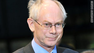 "Herman Van Rompuy is ""well known as a consensus builder,"" said Gordon Brown."