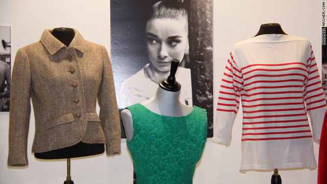 Outfits worn by Audrey Hepburn go on auction in London.