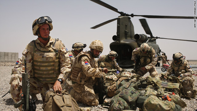 Additional troops promised by Gordon Brown will take the UK's deployment in Afghanistan to 9,500.