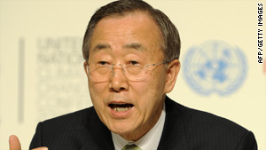 "Ban Ki-Moon: ""The deal is backed by money and the means to deliver it."""