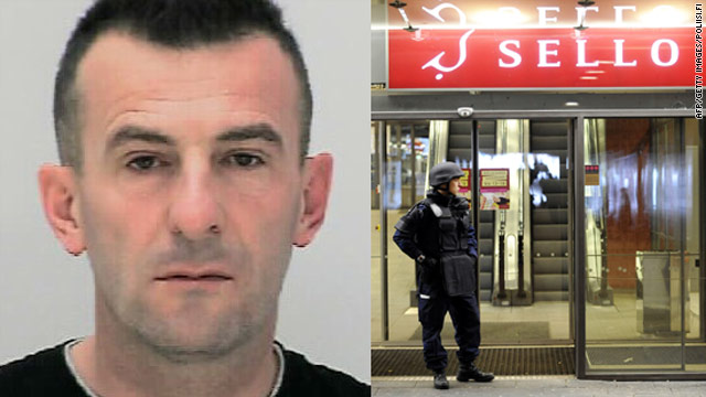 The Sello shopping center gunman has been named as 43-year-old Ibrahim Shkupolli by Finnish state broadcaster YLE.