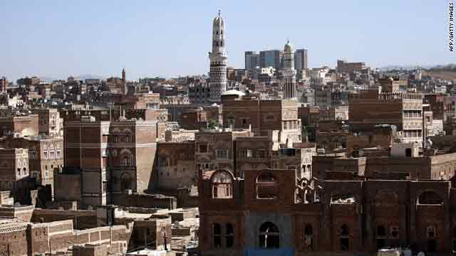 Sanaa is the the captial city of Yemen, which is on the southwestern part of the Arabian peninsula.