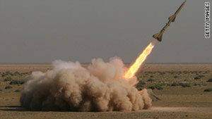 Iran test-fired missiles in September amid heightened tension over the country's nuclear program.