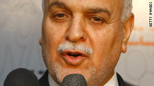 Iraqi Vice President Tariq al-Hashimi had blocked last week's attempt to pass election legislation.