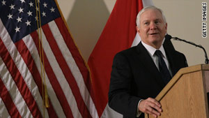 "Defense Secretary Robert Gates says he expects Iran to face ""significant"" sanctions by the international community."