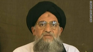 The message purportedly came from the wife of Ayman al-Zawahiri.