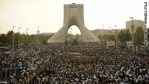 Thousands were arrested in connection with protests after Iran's disputed presidential election in June.