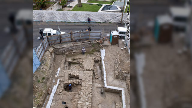 The remains of the ancient dwelling will be displayed as part of a new center in Nazareth honoring Mary.
