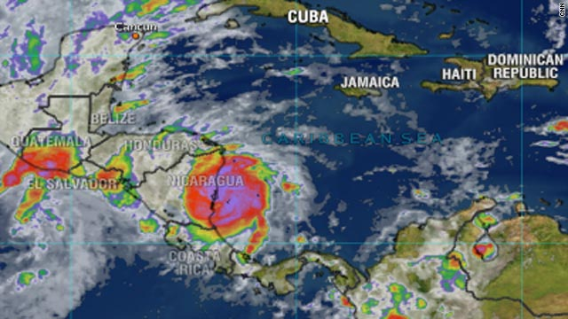 Ida weakens to tropical storm, drenches Nicaragua - CNN.com