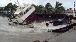 Earlier this week, Ida made landfall as a hurricane over east central Nicaragua, grounding ships and causing damage.