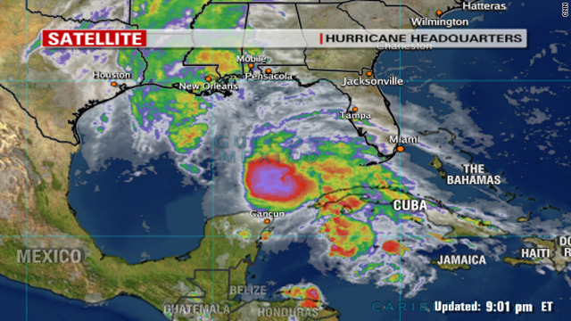 Hurricane Ida moves into U.S. Gulf Coast - CNN.com