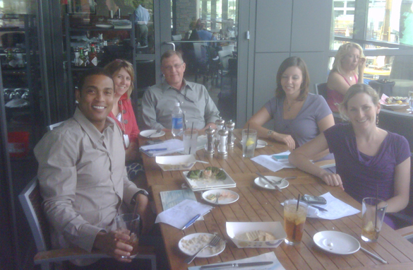 Don Lemon and the CNN Newsroom show team prepping for the weekend prime show