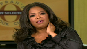 Oprah Winfrey talks about the book