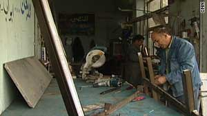 Businesses in Iraq struggle to find finance.