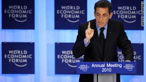 Sarkozy calls for reform after 'crisis'