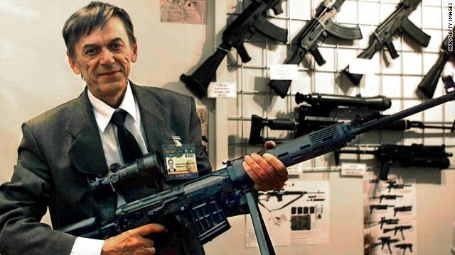Is Victor Kalashnikov's pose your boss's idea of running a military-style operation at work?
