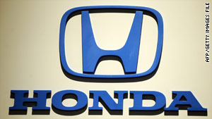 Honda recall related to airbags is more than half a million worldwide.