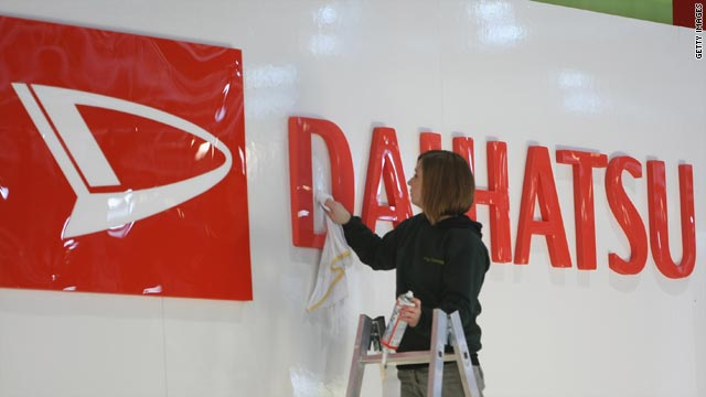 Daihatsu recalled more than 274,000 vehicles manufactured between 2004 and 2009.