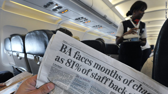 BA said it has also made agreements with other carriers to rebook customers free of charge during the strike period.