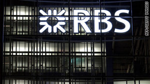 Royal Bank of Scotland is 70-percent government owned.