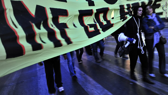 The austerity measures that the IMF is likely to impose are unpopular in Greece.
