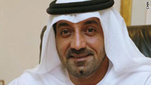 Sheikh Ahmed bin Saeed Al Maktoum, Chairman of Dubai's Supreme Fiscal Committee on Dubai's fiscal policies.
