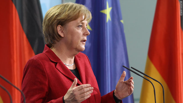 German Chancellor Angela Merkel has been at the forefront of discussions about a rescue deal for the eurozone.