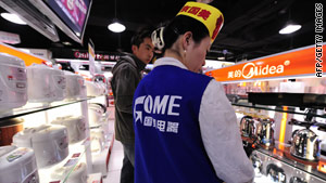 Huang built Gome into one of China's largest retail chains.