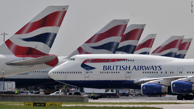 British Airways expects to carry up to 70 percent of passengers during a series of strikes by cabin crew during May and June.