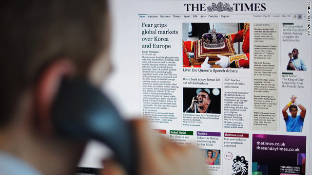 The Times and Sunday Times newspaper sites are offering a free trial period for customers.