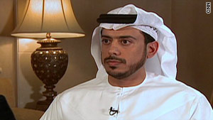 Chairman of the Abu Dhabi Tourism Authority, Sheikh Sultan Bin Tahnoon Al Nahyan.
