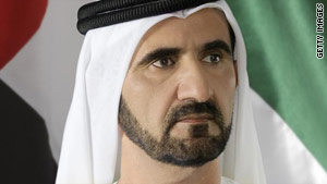 Ruler of Dubai and Prime Minister of the UAE, H.H Sheikh Mohammed Bin Rashid Al Maktoum.