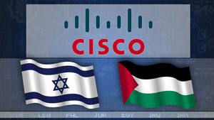 The technology company Cisco is encouraging both the Palestinians and Israelis to work together on a number of projects.