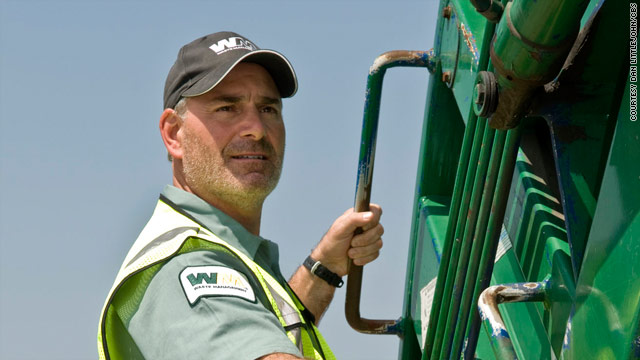 Waste Management's Larry O'Donnell was the first boss to go undercover on the U.S. version of the reality TV show.