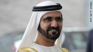 Sheikh Mohammed Bin Rashid Al Maktoum, Ruler of Dubai and Prime Minister of the UAE